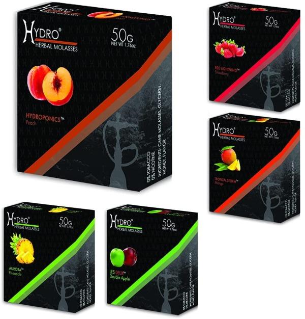 Hydro Herbal Hookah Shisha Flavors