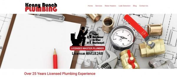 Kenny Bunch Plumbing - plumber in plano