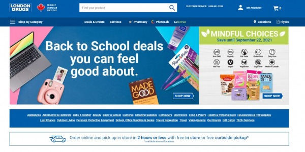London Drugs - grocery stores in canada
