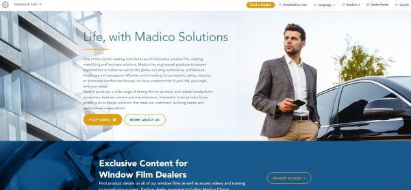 MADICO - window tint plano