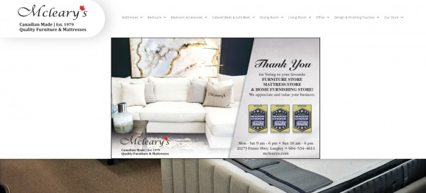 McLeary's- furniture stores langley