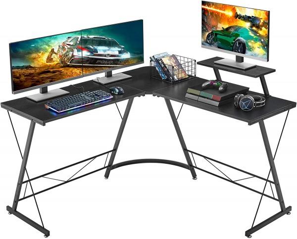 Mr. Ironstone L-Shaped Computer Desk