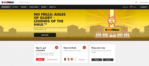 No Frills - grocery stores in canada