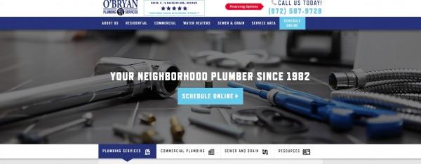 O'Bryan Plumbing Services - plumber in plano