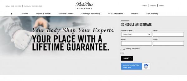 Park Place Bodywerks - car body shops Dallas