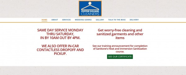 Pepper Square Cleaners