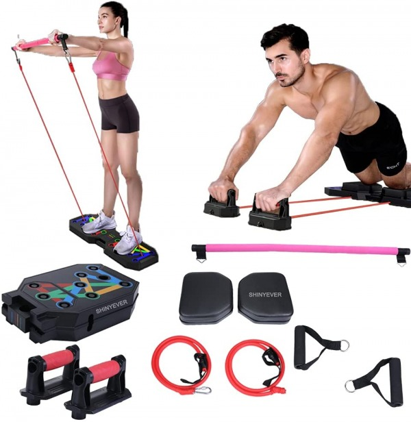 SHINYEVER Portable Home Gym Workout Equipment