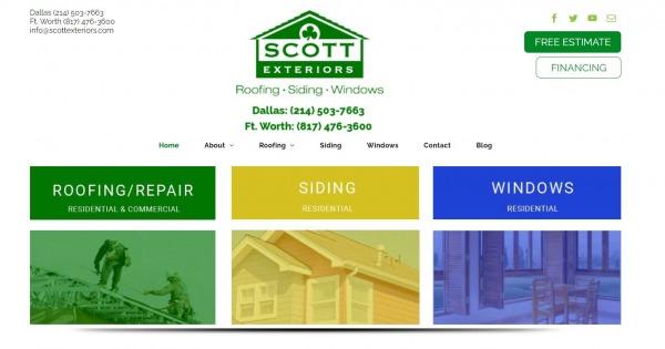 Scott Exteriors - plano roofing companies