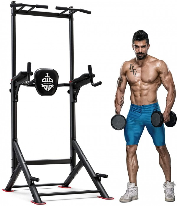 Sportsroyal Power Tower Pull Up Dip Station