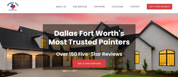 Spray Tex Painting - House Painters In Plano