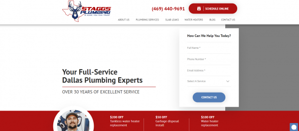 Staggs Plumbing