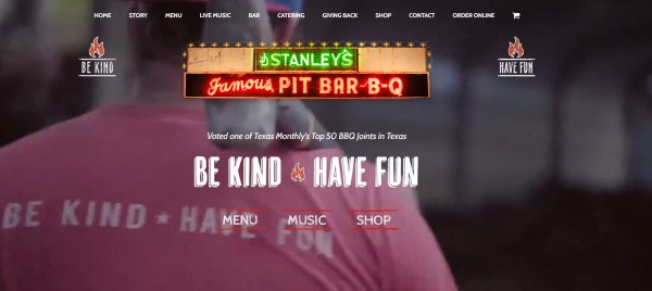 Stanley's Famous Pit- bbq places in texas