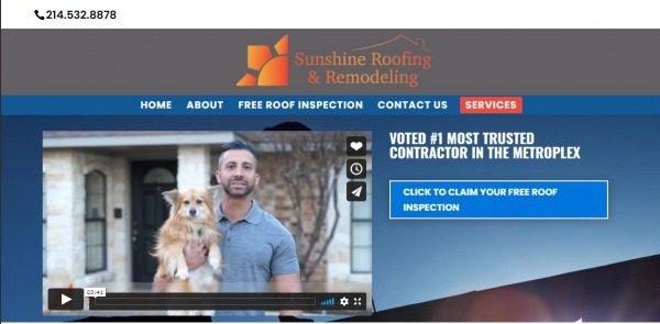 Sunshine Roofing And Remodelling - plano roofing companies