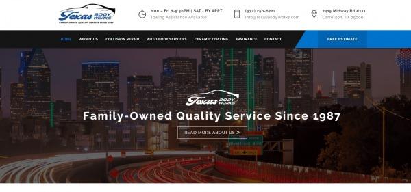 Texas Body Works - car body shops Dallas
