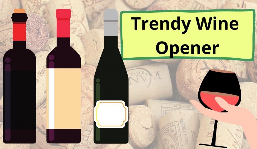 Trendy Wine Opener