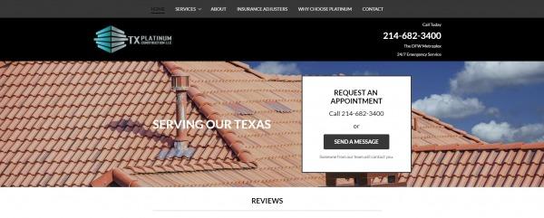 Tx Platinum Construction - plano roofing companies