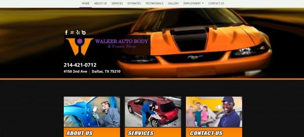 Walker Auto Body and Frame Shop- car body shops Dallas
