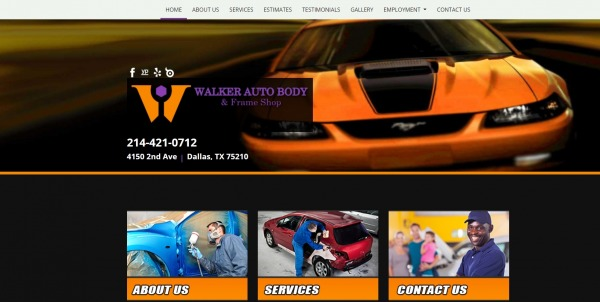 Walker Auto Body and Frame Shop - Paint Shops in Dallas
