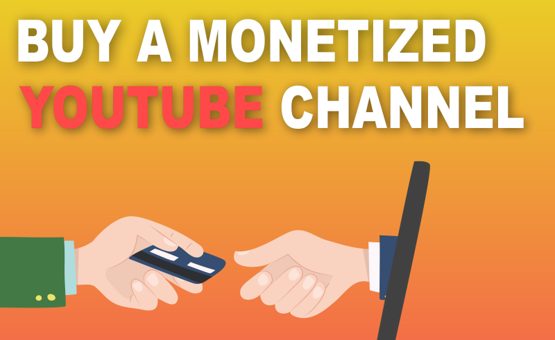 buy a monetized youtube channel audiencegain