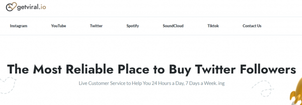 getviral Buy Twitter followers