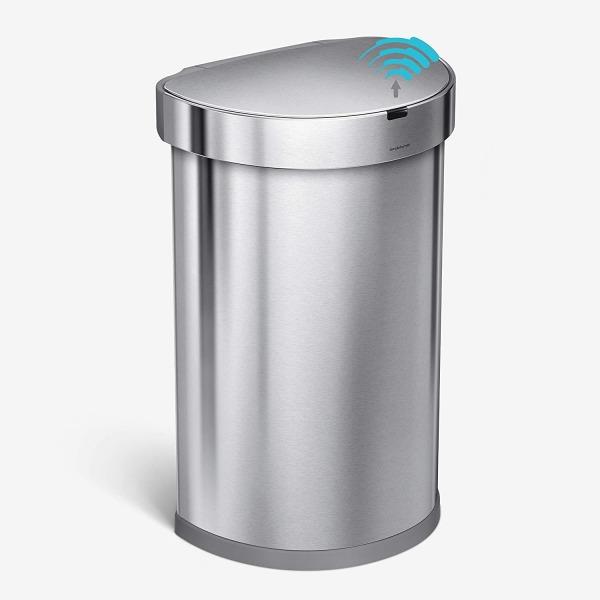 simplehuman 45 Liter, Dustbin Brushed