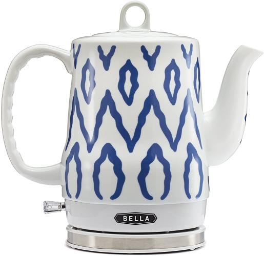 BELLA 1.2 Liter Electric Ceramic Tea Kettle