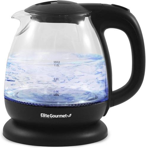 Elite Gourmet EKT1001 Electric BPA-Free Glass Kettle