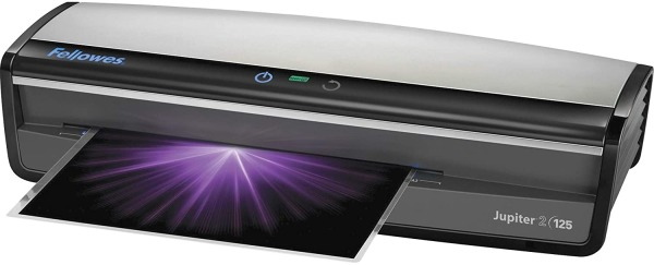 Fellowes Jupiter 2 125 Laminator with 10 Pouches