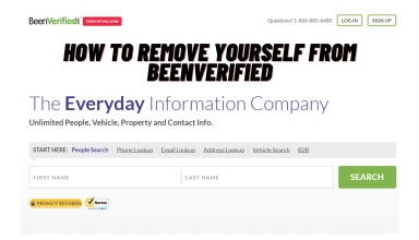 How To Remove Yourself From BeenVerified