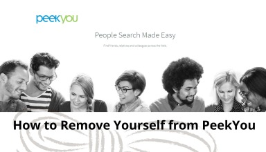 How to Remove Yourself from PeekYou