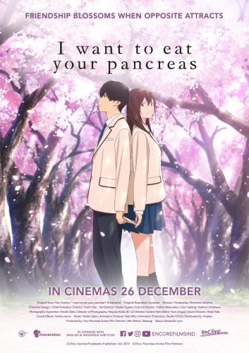 I Want To Eat Your Pancreas - Movies Like A Silent Voice