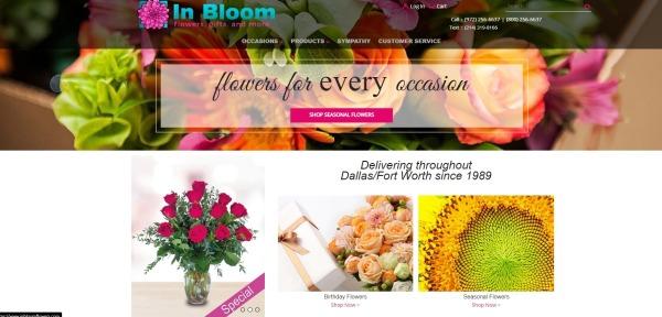 In bloom flowers - Florists In Plano Tx