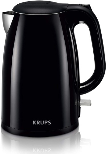 KRUPS BW260850 Cool-touch Stainless Steel Double Wall Electric Kettle