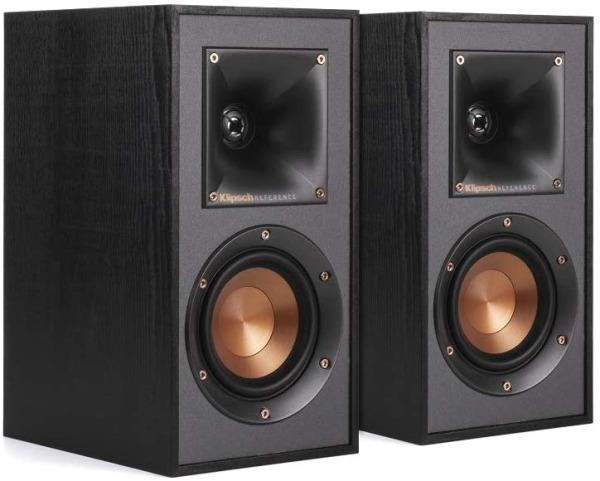 Klipsch R-41M Powerful Bookshelf Home Theater Speaker (Black)