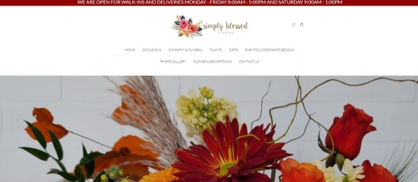 Simply blessed flowers and gifts - Florists In Plano Tx