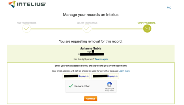 intelius request removal - How to Remove Yourself from ZabaSearch