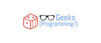 GeeksProgramming.com