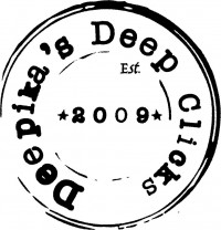 Deepika's Deep Clicks